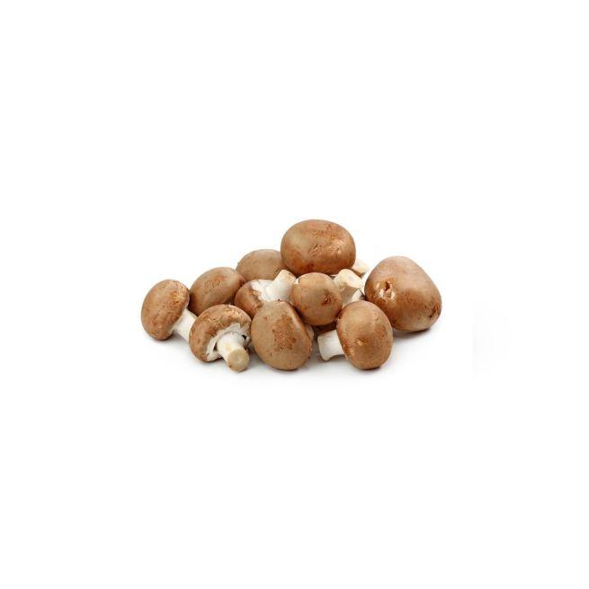 Kastanje champignons verpakt per 250 gram