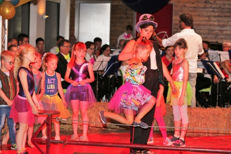 Foto's: Circus-concert in Nuland