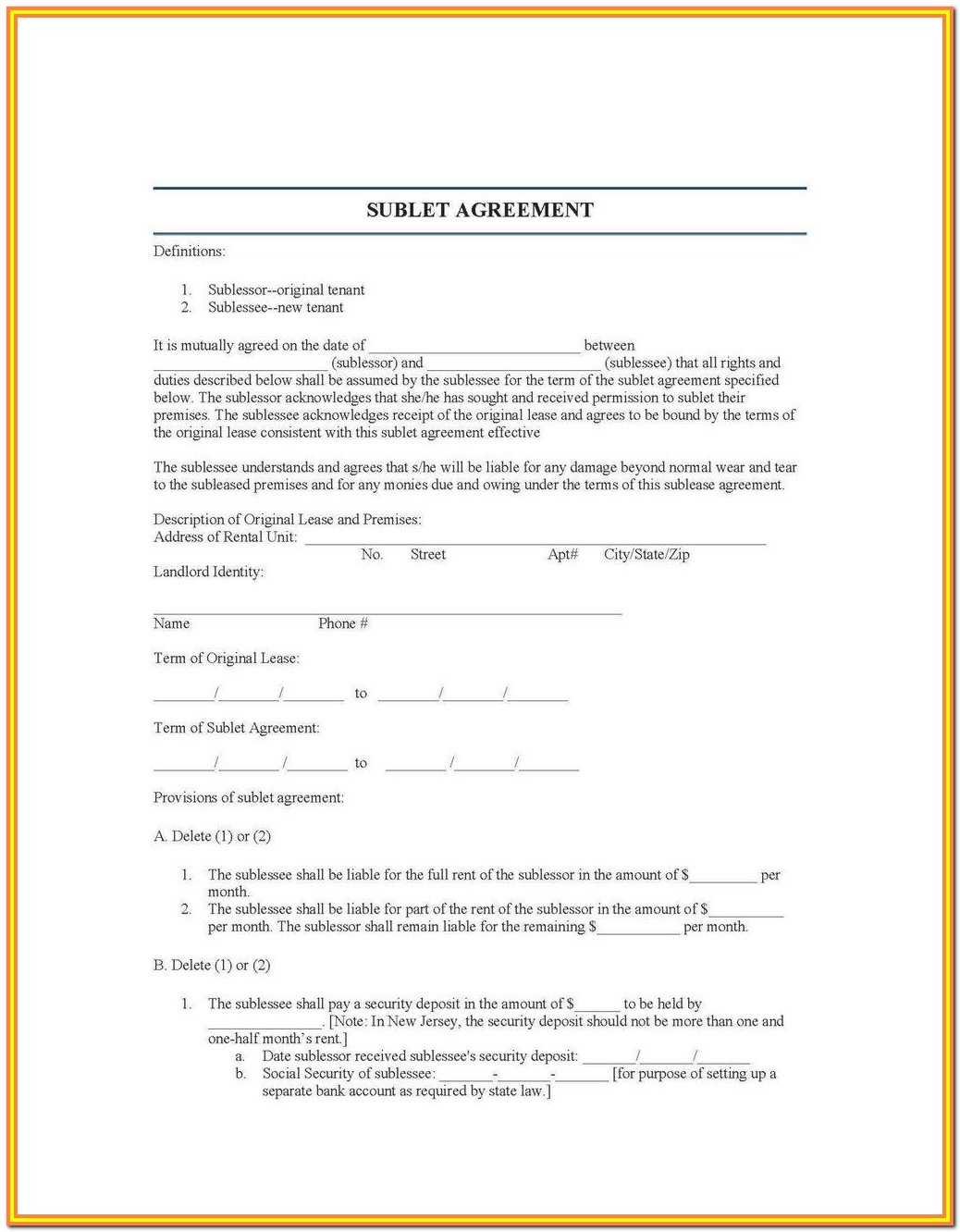 Escrow Account Agreement Format India