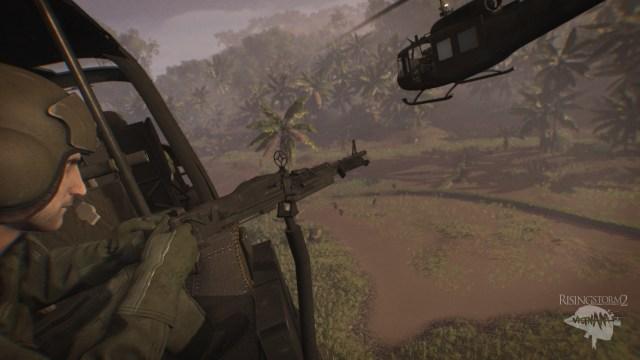 Rising Storm 2 Helicopter Gunner