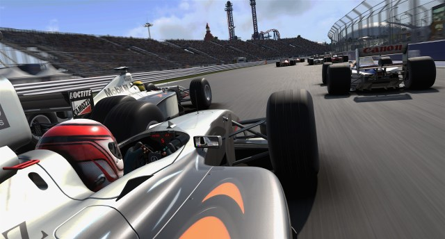 F1 2017 - Graphics, reflections, track.
