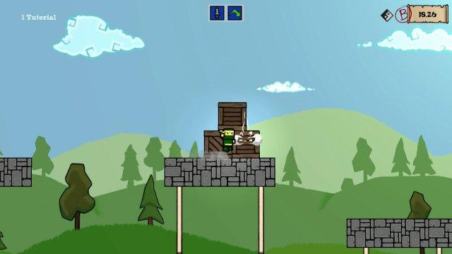 Save The Ninja Clan - Angry Birds type graphics