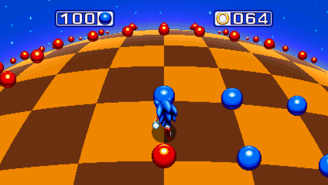 Sonic Mania - Avoid those red balls