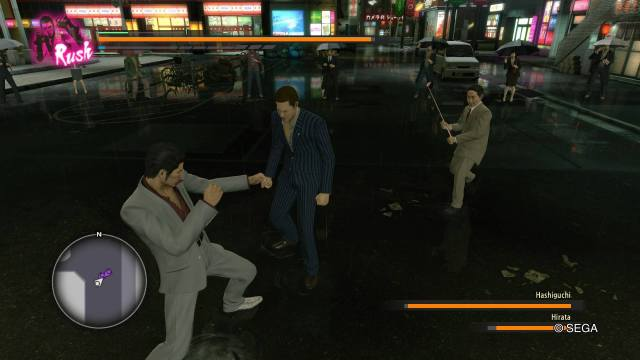 Yakuza Kiwami PS4 Game Fight Scene