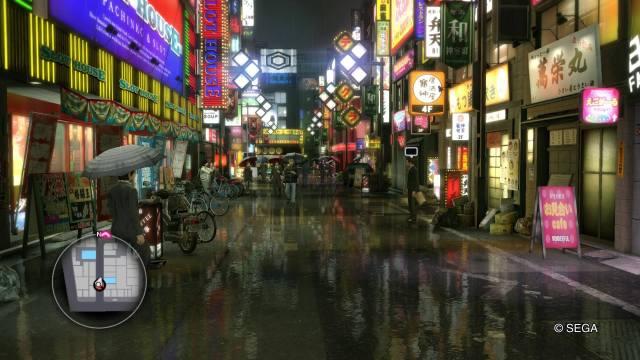 Yakuza Kiwami PS4 Main Street Setting