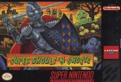 Super Ghouls and Ghost Box Art