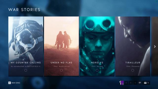 Battlefield V - War Stories
