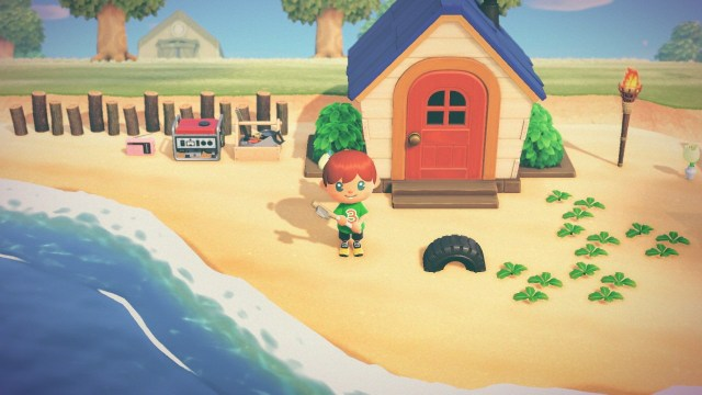Animal Crossing: New Horizons. My first home.