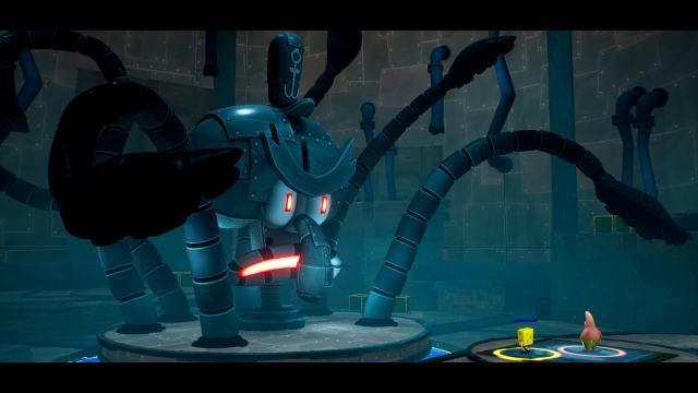 SpongeBob SquarePants: The Battle for Bikini Bottom - Re-hydrated. Robo-Squidward.