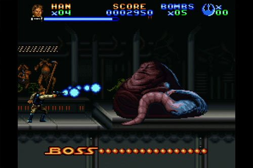 Super Return of the Jedi SNES