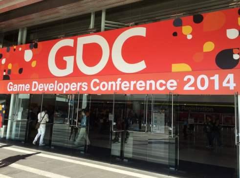 The doors to GDC open.