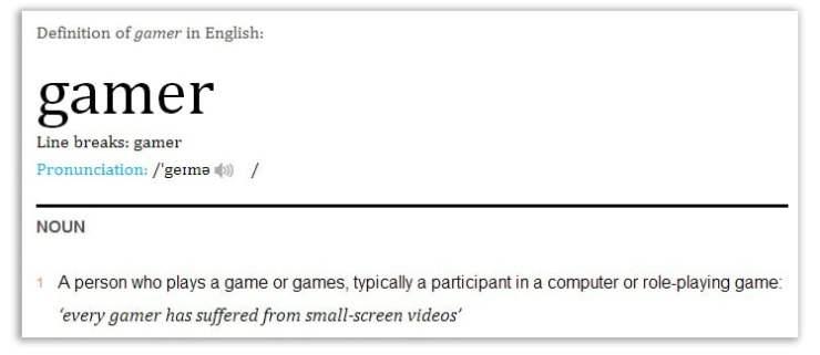 gamer_definition