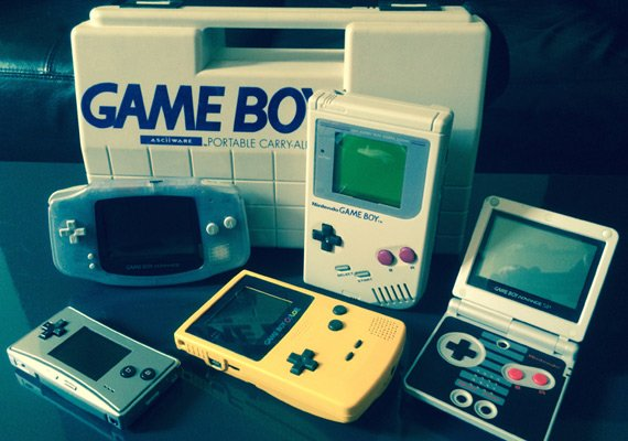 Game Boy family of consoles