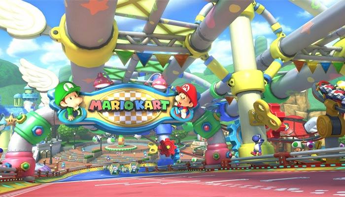 Mario Kart 8 Baby Park