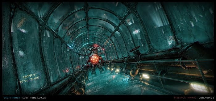 Scott Homer BioShock CryEngine screenshot 03