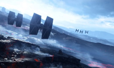 Star Wars Battlefront Sullust Art