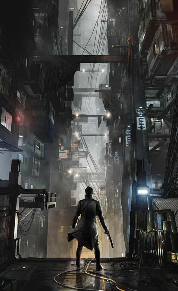 Deus Ex: Mankind Divided concept art