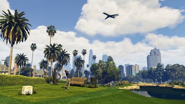 10 Best-looking games of 2015 - GTA V PC