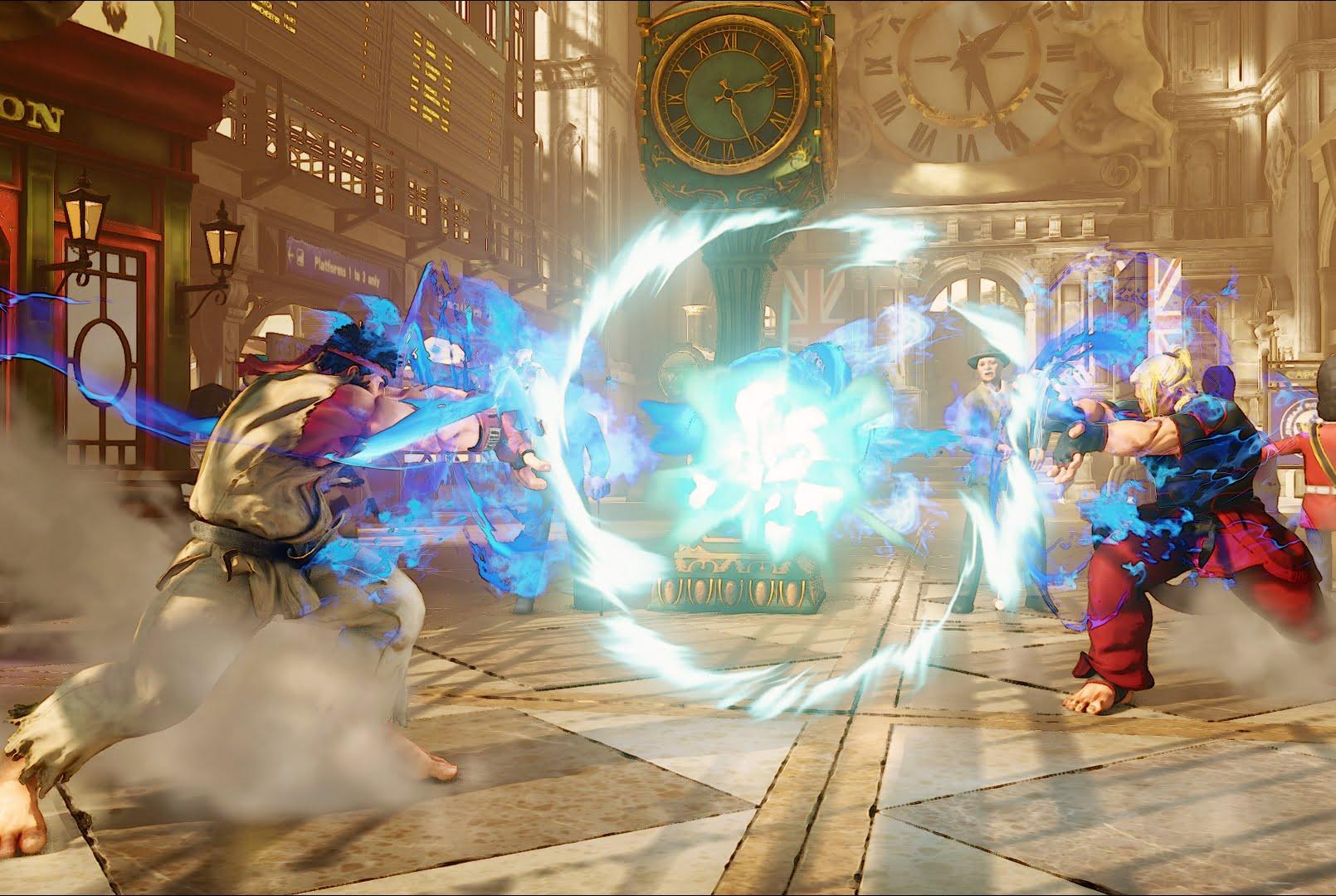 Ryu Vs Ken Street Fighter 5