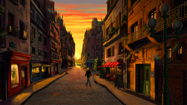 Broken Sword 5 – The Serpent's Curse – Parisian Sunset