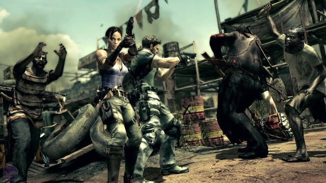 10 best zombie games - Resident Evil 5