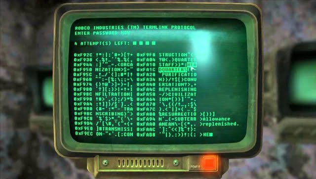 10 worst hacking game mechanics - Fallout 3