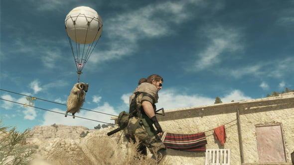 Metal Gear Solid V: The Phantom Pain Fulton Recovery System