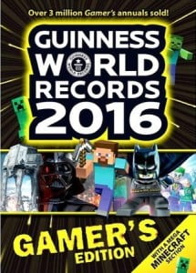 Guinness World Records Gamer's Edition 2016 cover