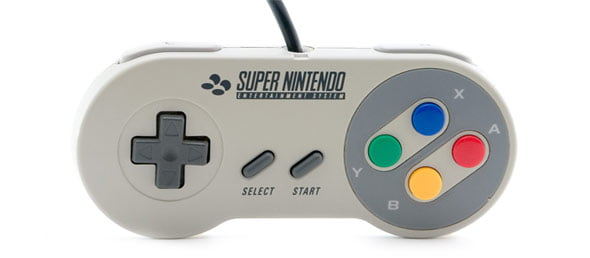 Wii Classic Controller - SNES Limited Edition