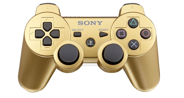 PlayStation Dual Shock 3 - Metallic Gold