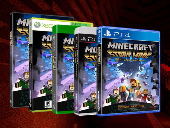 Minecraft: Story Mode pack shot