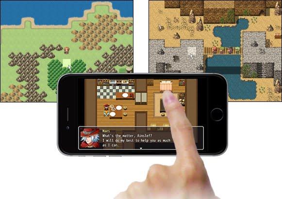 RPG Maker MV touch support