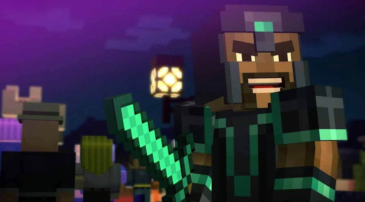 Minecraft Story Mode Episode One Review Thumbsticks