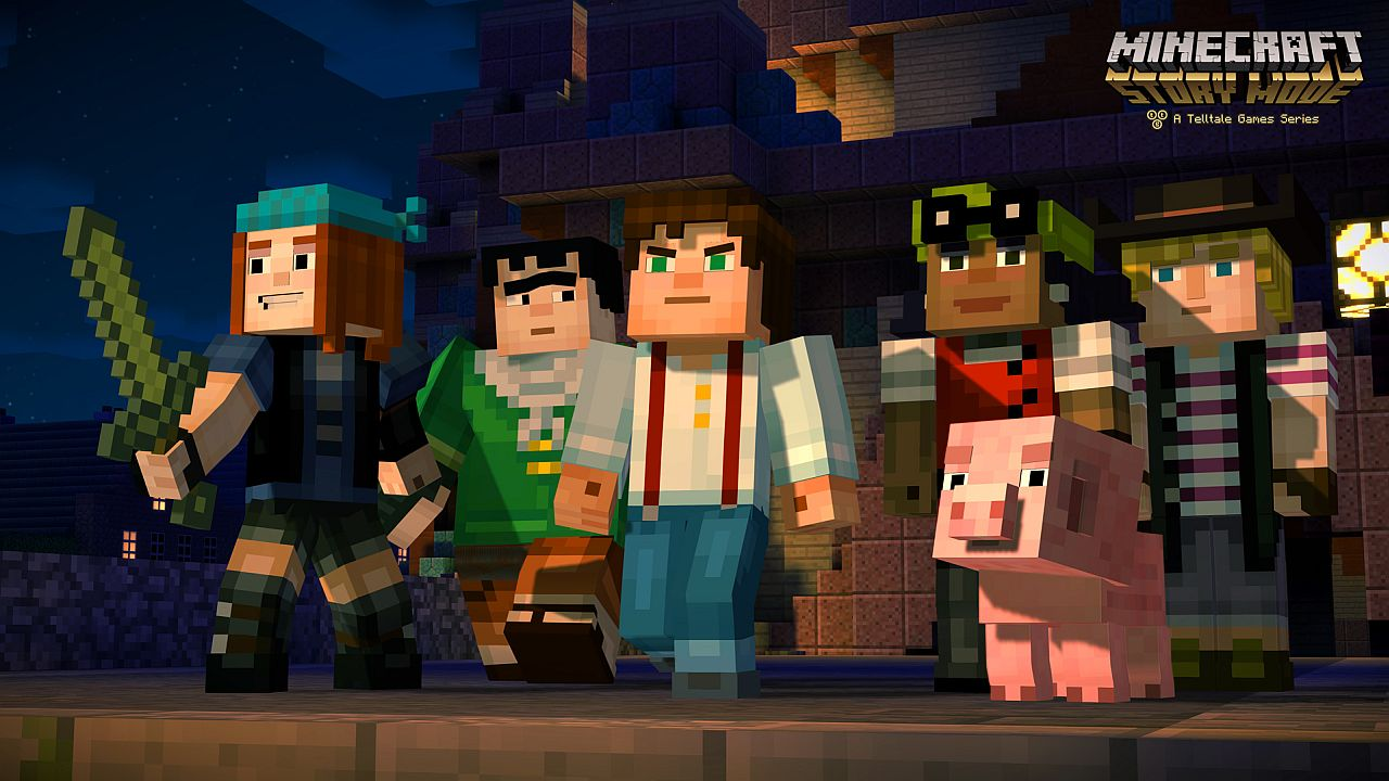 Should I play Minecraft Story Mode? Ensemble party