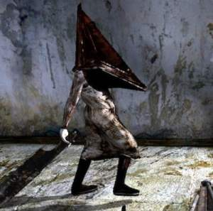 video game halloween costume ideas - silent hill pyramid head