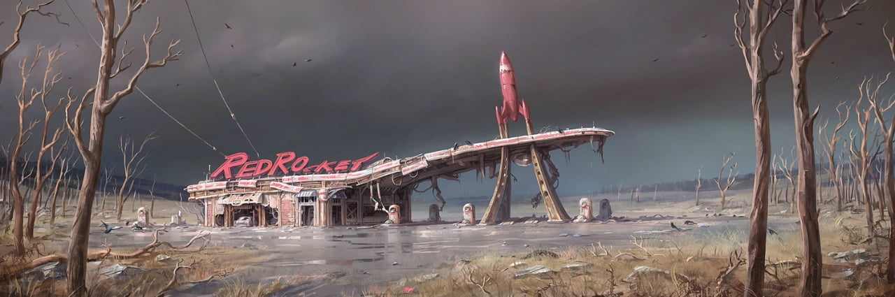 Lost Dogmeat? Check the Red Rocket station