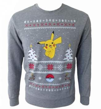 Best gaming Christmas Jumpers – Pokemon