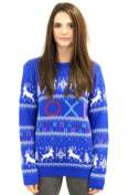 Best gaming Christmas Jumpers – blue PlayStation 02