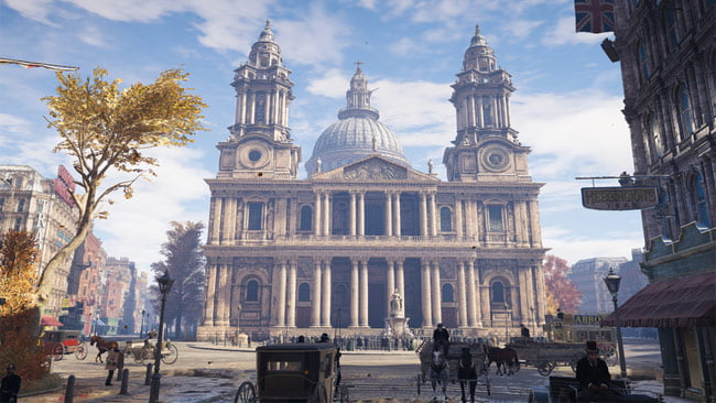 Assassin's Creed Syndicate St Paul's Cathedral