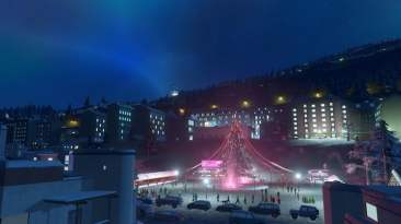 Cities: Skylines Snowfall 03