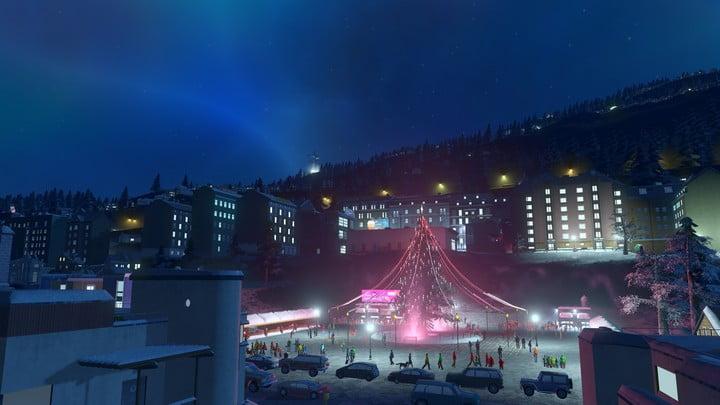 Cities: Skylines Snowfall 03