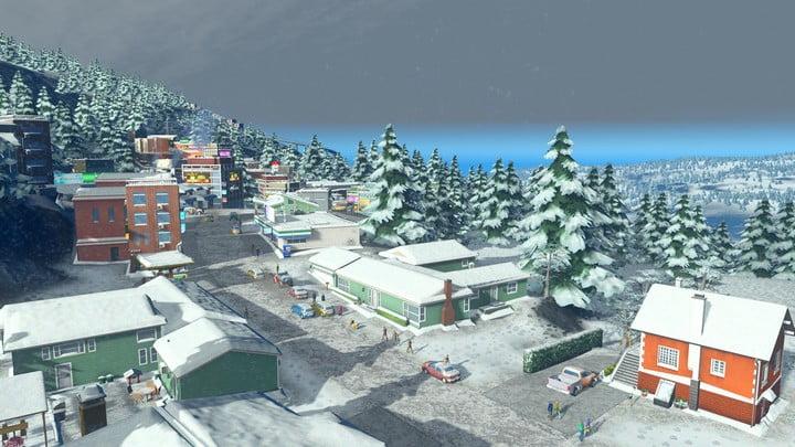 Cities: Skylines Snowfall 07