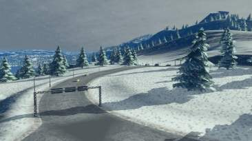 Cities: Skylines Snowfall 09