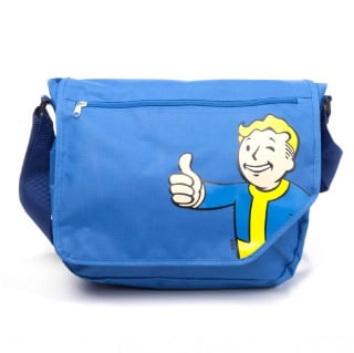 Fallout Vault Boy messenger bag