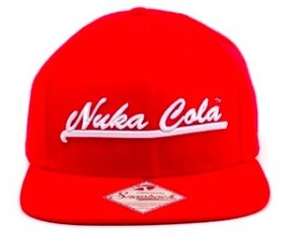 Nuka Cola Fallout snapback hat