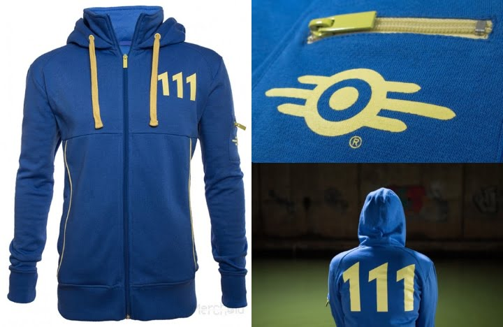 Vault 111 Fallout hoodie