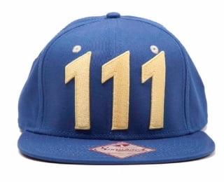 Vault 111 Fallout snapback hat