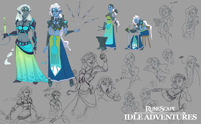 Runescape:: Idle Adventures
