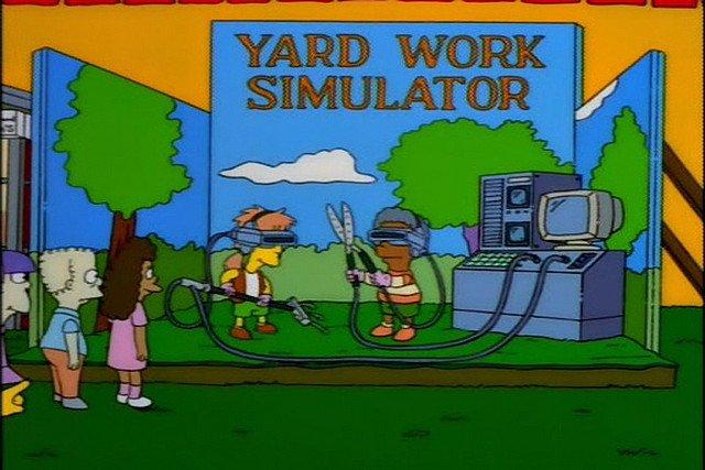 yard work simulator - the Simpsons