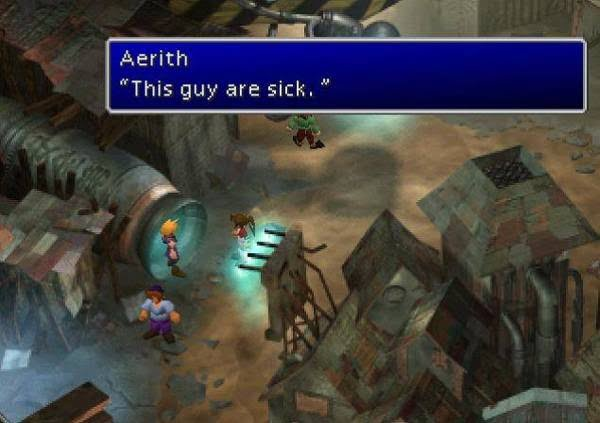 Final Fantasy VII this guy are sick